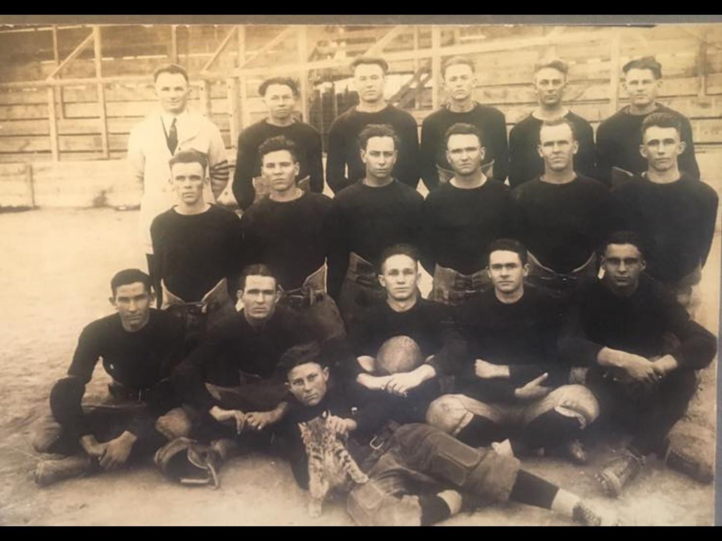 The 1922 Del Rio Wildcats